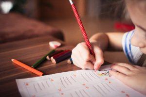 enfant stage scolaire devoir